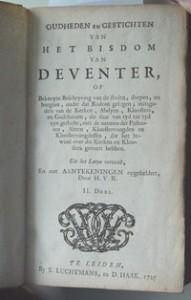 Kerkelijke Historie en Oudheden cover